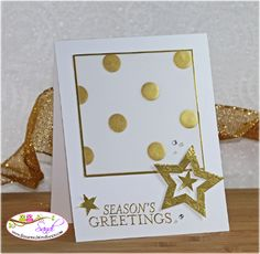 Stampin Up Bright and Beautiful card by Sand @ www.stampingwithsandi.com
