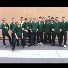 University of Oregon's ON THE ROCKS. Were on the singing bee!!!