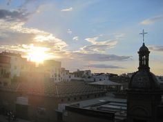 Sevilla, Spain. From the rooftop of my favorite bar.