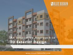 Get 3D Architectural Exterior Rendering, Exterior Designs Unbelievable Modeling Design by BlueRibbon 3D Animation Studio. #BlueRibbon3D #3DExteriorRendering  http://www.blueribbon3d.com/