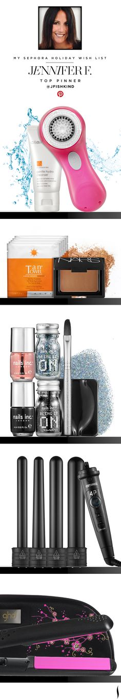 My Sephora Holiday Wish List. Jennifer F., Top Pinner @Jennifer Haber Fishkind #Sephora What's #YourExtraordinary? #SephoraSweeps