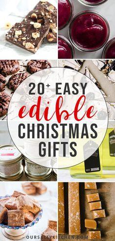 Homemade Christmas Gifts Food, Christmas Food Hampers, Christmas Treats For Gifts, Homemade Food Gifts, Diy Food Gifts, Xmas Food, Christmas Cooking, Jar Gifts, Chocolate Christmas Gifts