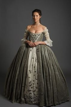 "The 'Outlander' Wedding — Official photos from Episode 107 ""The Wedding"" Caitriona Balfe, ""Claire Fraser"""