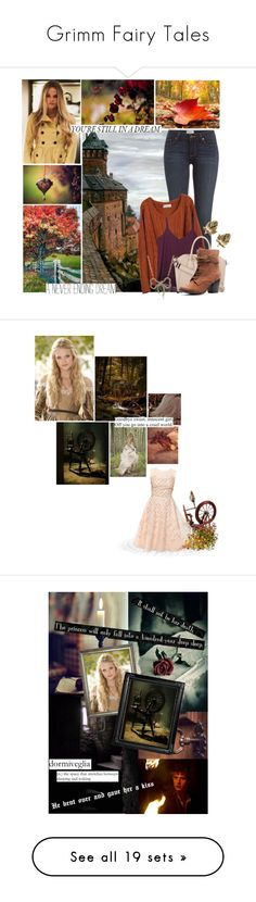 """Grimm Fairy Tales"" by charlizard ❤ liked on Polyvore featuring art, fallfashion, BOTSG02, women's clothing, women, female, woman, misses, juniors and Cameo Rose"