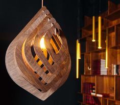 Geometric Wooden Lamp Wood Lighting Wooden Decor Eco Decor Eco Design #Geometriclamp #Lighting #Woodendecor #Ecodecor #Ecodesign