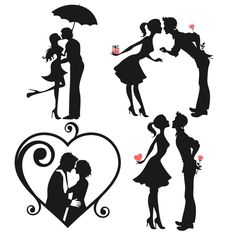 Love Couple Svg Cuttable Designs