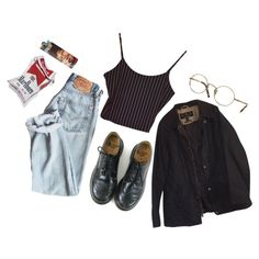 ❤️mrbr by vusvvv on Polyvore featuring Barbour, Dr. Martens and Oliver Peoples