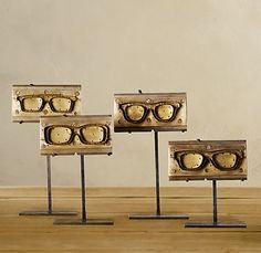 eyewear molds, love!   #Optometry #sunglasses #eyeglasses #vision