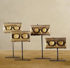 eyewear molds, love!   #Optometry #sunglasses #eyeglasses #vision