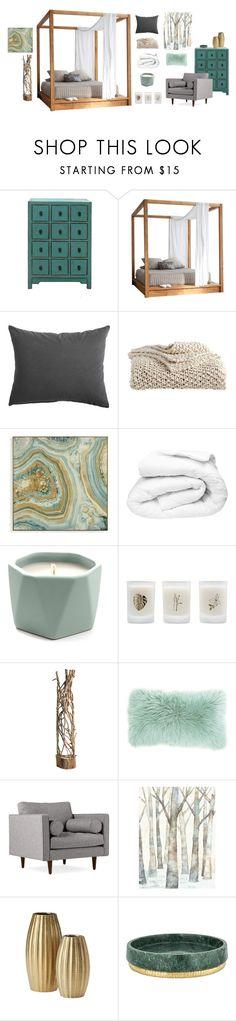 """Untitled #150"" by natashaftr on Polyvore featuring interior, interiors, interior design, home, home decor, interior decorating, MASH Studios, DKNY, Grandin Road and Illume"