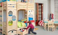 Fascinating Design Ideas You Can Find in Rhapsody Children's Beds : Camas Juegos Child Picture Bedroom Marvelous Camas Juegos A Miniature World Of Fantasy And Games Rhapsody Childrens Beds Juegos Camas Saltarinas Juegos Camas Play Beds, Kids Bunk Beds, Bunk Bed With Stairs And Storage, Small Bedroom Interior, Bedroom Ideas, Bedroom Inspiration, Casa Kids, Indoor Slides, Cool Kids Bedrooms