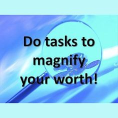 Do tasks to magnify enlarge and maximize your wealth! Source: hollandcodes com #vision #mission #values #purpose #destiny #identity #potential #development #revelation #meaning #wisdom #knowledge #understanding #motivation #planning #aspiration #inspiration #decision#goals #strategy #strengths #interests #preference