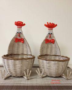 🔸️Ещё две красавицы #курочки #назаказ 🤗 моя лента наполнена ими на любой вкус! 🐓 #курочкапасхальная ➡️ #nata_saulkina ⬅️ . 🔸️Плетеные…
