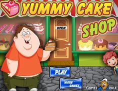 Play #YummyCakeShop. Get ready to build your own cake shop! You are running a cake shop in a city.