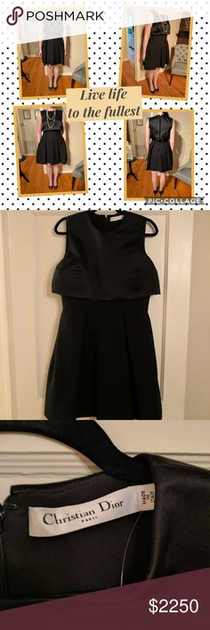 Christian Dior Dress To die for Christian Dior dress.  Never worn!   Amazing dress for any event.  Don't miss out on this one! Christian Dior Dresses Midi