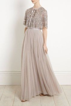 Charming Tulle Evening Dresses,Chic Round Collar Homecoming sold by Prettyprom on Storenvy Kebaya Dress, Dress Pesta, Fashion Vestidos, Fashion Dresses, Chifon Dress, Needle And Thread Dresses, Hijab Dress Party, Look Fashion, Homecoming Dresses