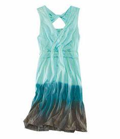Deja Vu Dress - Shop All - Dresses, Skirts & Skorts - Categories - Title Nine *Aqua*
