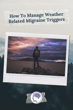 How to manage migraine headaches and weather changes @migrainesavvy #migraine #headache #migrainerelief Migraine Triggers, Migraine Headache, Chronic Migraines, Headache Relief, Migraine Pressure Points, Migraine Diary, Migraine Piercing, Weather Change, Do You Know What