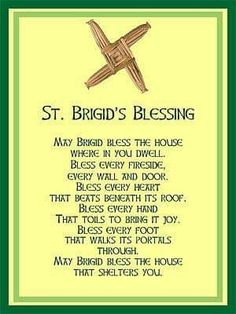 Saint Brigid Cross Irish House Blessing Holy Post Card Set of 8 House Blessing, Irish Blessing, Irish Quotes, Irish Sayings, St Brigid Cross, Celtic Christianity, Brigid's Cross, Irish Proverbs, Irish Pride