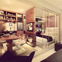 Pequenos espaços bem planejados - Camila Klein Arquitetura e Interiores