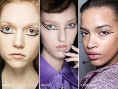 Fall/ Winter 2016-2017 Makeup, Beauty Trends: Eye Liners