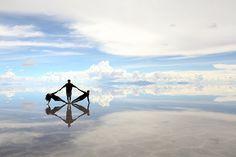 Reflections on the Salar, Salar de Uyuni, Departmento Potosí, Bolivia - Brad Wilson