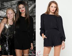 Lately Selena Gomez has been all about her rompers/playsuit and we can't complain because all of them have been so cute! Check out thi...