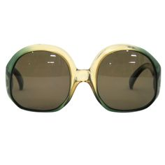 VINTAGE CHRISTIAN DIOR OVERSIZED SUNGLASSES | From a collection of rare vintage sunglasses at http://www.1stdibs.com/fashion/accessories/sunglasses/