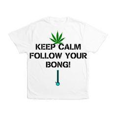 Follow Your Bong Men's All Over Print T-Shirt