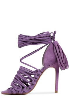 Jeffrey Campbell Shoes SABRA New Arrivals in Lavender Suede