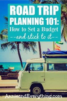 Road trips can be fun -- and expensive. It's easier to keep costs down if you set a budget as part of your road trip planning. Read this for ideas about what to include and how to save money!