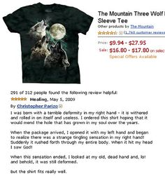 I'm just wondering why the sale price starts higher than the normal price Cute Funny Pics, The Funny, Funny Pictures, Funny Quotes, Funny Memes, Jokes, Funny Amazon Reviews, Wolf Sleeve, Laughing Face
