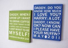 Turn kid quotes into 'subway art'