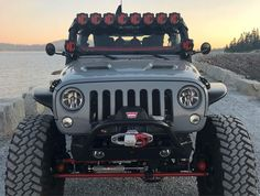 Save by Hermie Jeep Wrangler Lifted, Jeep Wrangler Unlimited, Jeep Wranglers, Lifted Tundra, Tundra Truck, Jeep Jl, Jeep Truck, Jeep Lights, Jeep Wave