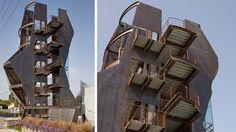 Samitaur Tower :: Eric Owen Moss
