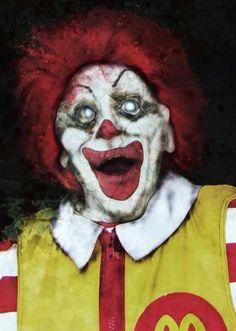 Ronald Mcdonald Zombie lol