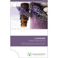 Lavender Essential Oil Sample Cards - Sample Cards - Tools