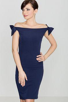 Rochie Model K028 bleumarin, este o rochie ce da un aspect sexy si plin de farmec, se adapteaza perfect pe figura, subliniind formele feminine, avand o lungime pana deasupra genunchilor. Rochia este fara maneci, ajuta sa evidentiati figugura si umerii goi, cu senzualitate. One Shoulder, Shoulder Dress, Glamour, Bleu Marine, Sexy, Dresses, Images, Fashion, Wiggle Dress