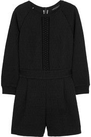 Marc by Marc JacobsQuilted jersey playsuit
