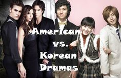 American vs. Korean Dramas by Madame Writer