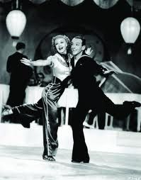 Love this outfit... Ginger Rogers and Fred Astaire, Follow the Fleet.