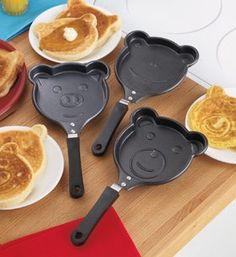 Amazon.com: Animal Shaped Fry Pans (Set of 3): Kitchen & Dining
