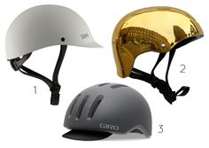 Stylish Bike Helmets from Iva Jean