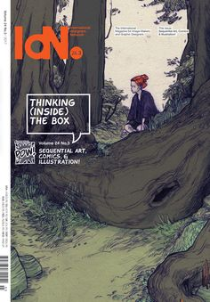 IdN v24n3: Sequential Art, Comics & Illustration — Thinking (Inside) the Box