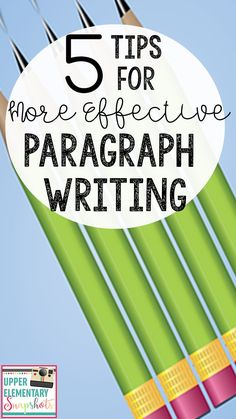 Writing effective paragraphs can be difficult! Teaching Paragraphs, Topic Sentences, Expository Writing, Paragraph Writing, Narrative Writing, Opinion Writing, Teaching Writing, Teaching Ideas, Writing Resources