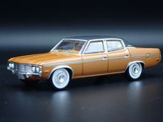 1:64 SCALE DIECAST MODEL CAR 1971 71 AMC MATADOR DUKES OF HAZZARD BONDING COMP