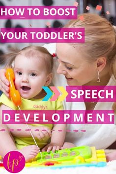 At home toddler speech development activities, ideas, and games for parents might mean the difference between needing speech therapy or not. You can greatly improve your toddler's ability to talk with these language tips for kids learning how to talk. #speechdevelopment #toddler Cognitive Development Activities, Baby Development, Natural Parenting, Good Parenting, Taking Care Of Baby, Speech Therapy, Early Childhood, Kids Learning, Toddler Speech Activities