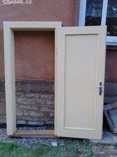 dřevěné zárubně + dveře - 1