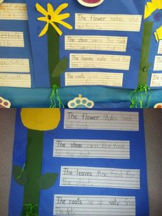 art and writing project-use with anchor chart