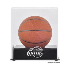 Mounted Memories NBA Mini Basketball Display Case NBA Team: Los Angeles Clippers